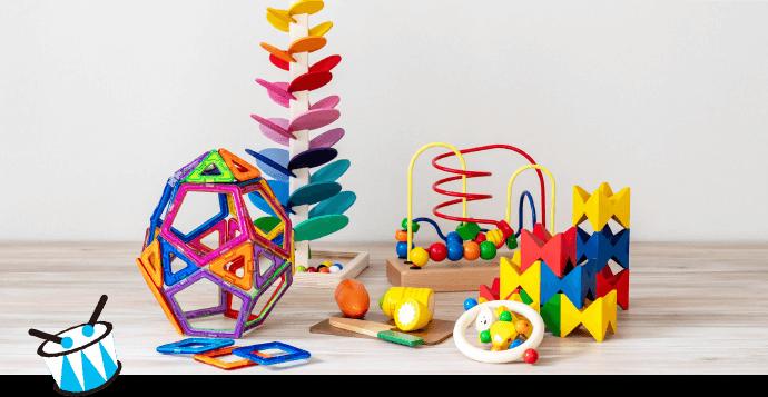 知育玩具やおもちゃのレンタル・サブスク キッズラボラトリーのおもちゃのプランニング例