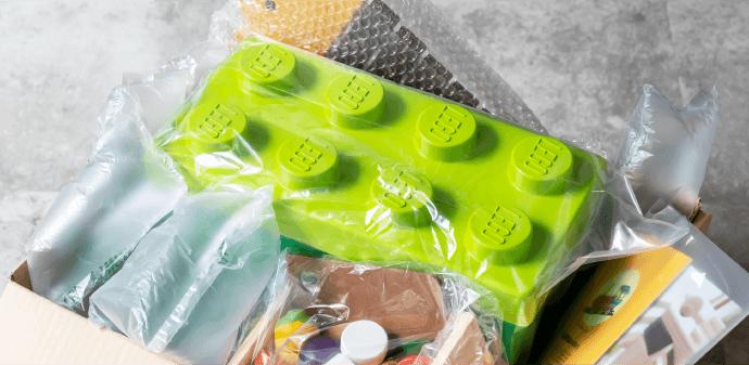 知育玩具やおもちゃのレンタル・サブスク キッズラボラトリーのおもちゃの返却イメージ